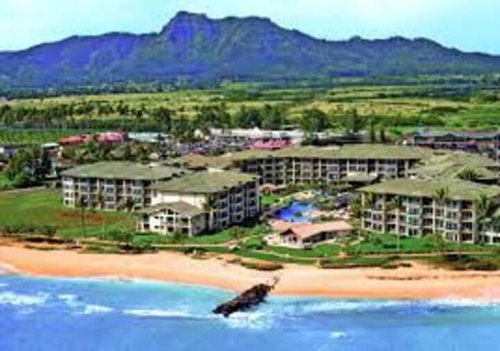 Waipouli Resort: Best Location! Steps2 Ocean/Pool!