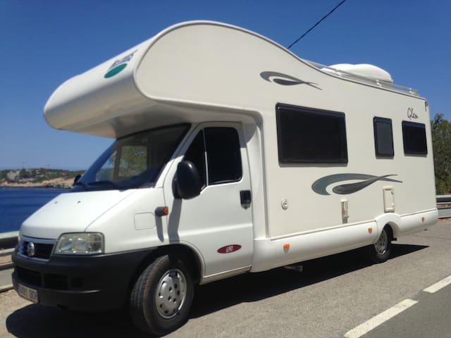 A Unique Vacation Experience in Ibiza A Motor Home