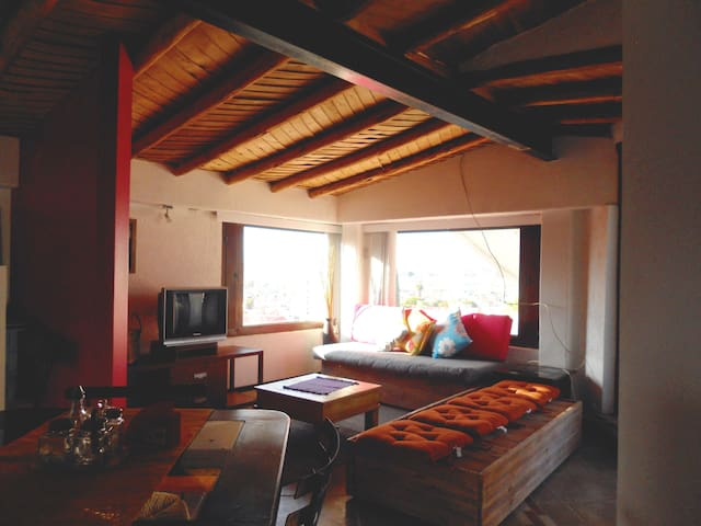 Small yet cozy and charming loft - Morelia - Apartment