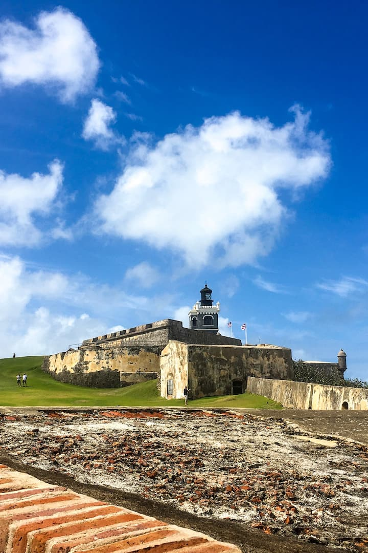 Landmark: Fortress San Felipe del Morro