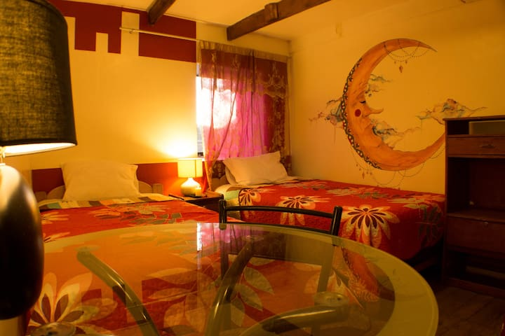 Habitacion doble dos camas con baño privado - Urubamba - Huis