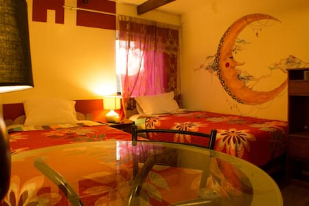 Habitacion doble dos camas con baño privado - Urubamba