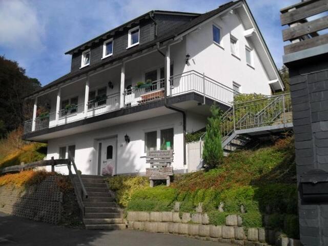 Luxe appartement 10 km van Winterberg (2-4 pers)