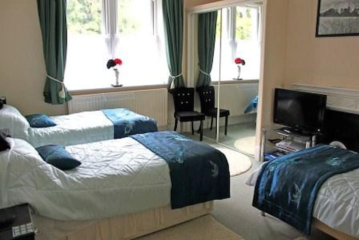The Teal Room is a triple room - Warminster - Pousada