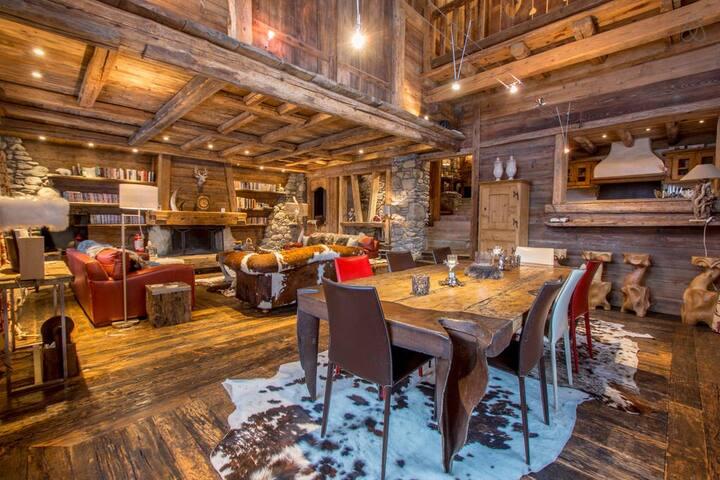 Chalet Arbois Ski - Demi-Quartier - House