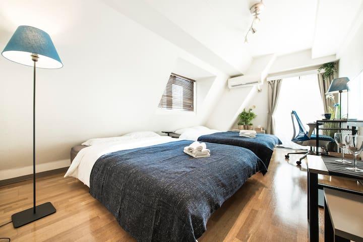 ◆免费WIFI◆距新宿3分钟! 房间干净舒适,出行便捷,设施齐全#2