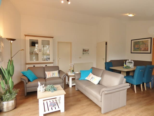Groen gelegen appartement, 400m van strand en zee. - Cadzand - Byt