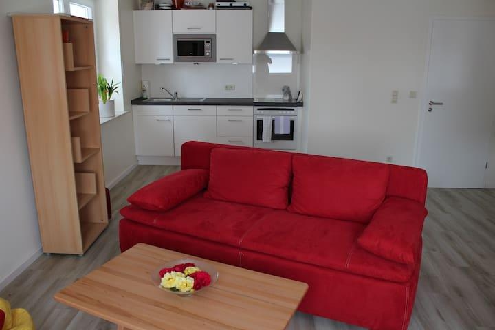 Zentru(SENSITIVE CONTENTS HIDDEN)ahe helle Wohnung Meppen - Meppen - Appartement