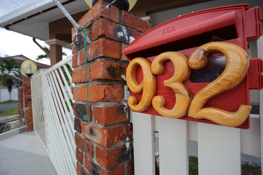 House number.....