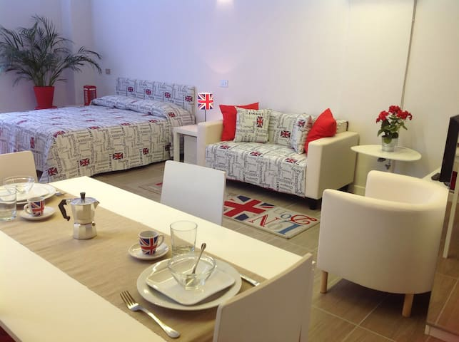 Smart English Style Studio Flat - Como - Apartamento