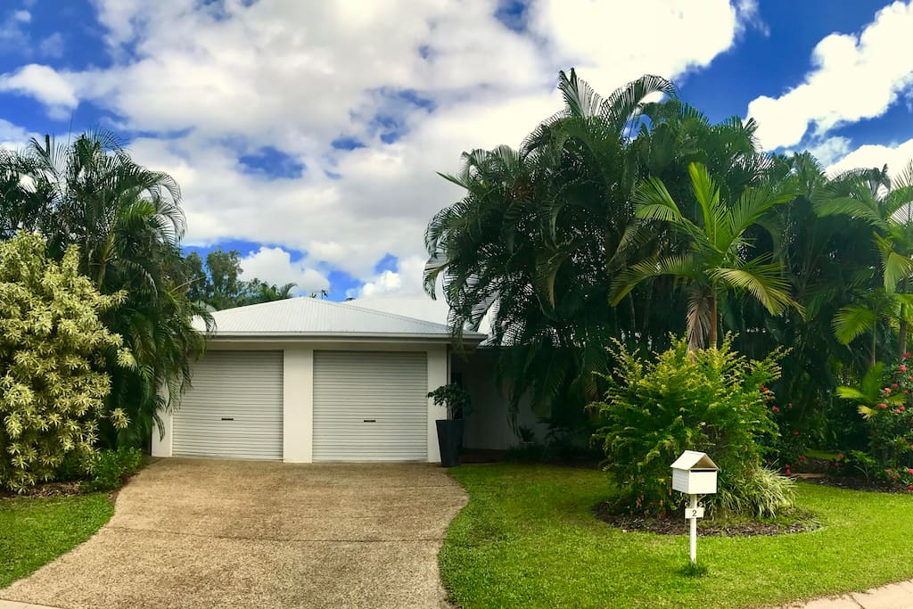 This Beautiful Tropical home will not disappoint and its also so close to the beach you'll be able to walk there in a couple of minutes!!