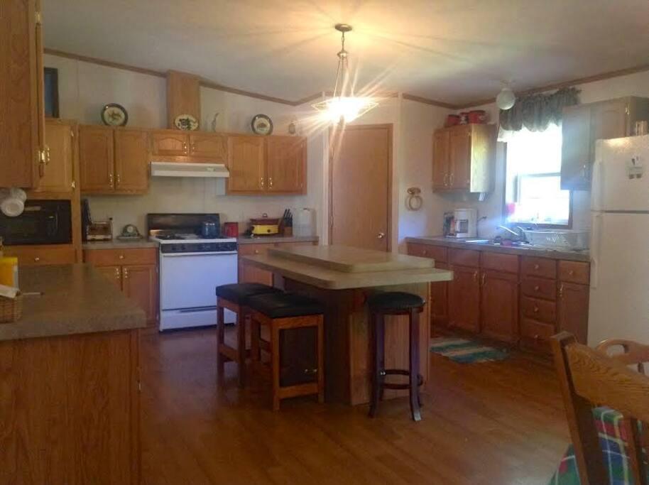 Great huge kitchen!
