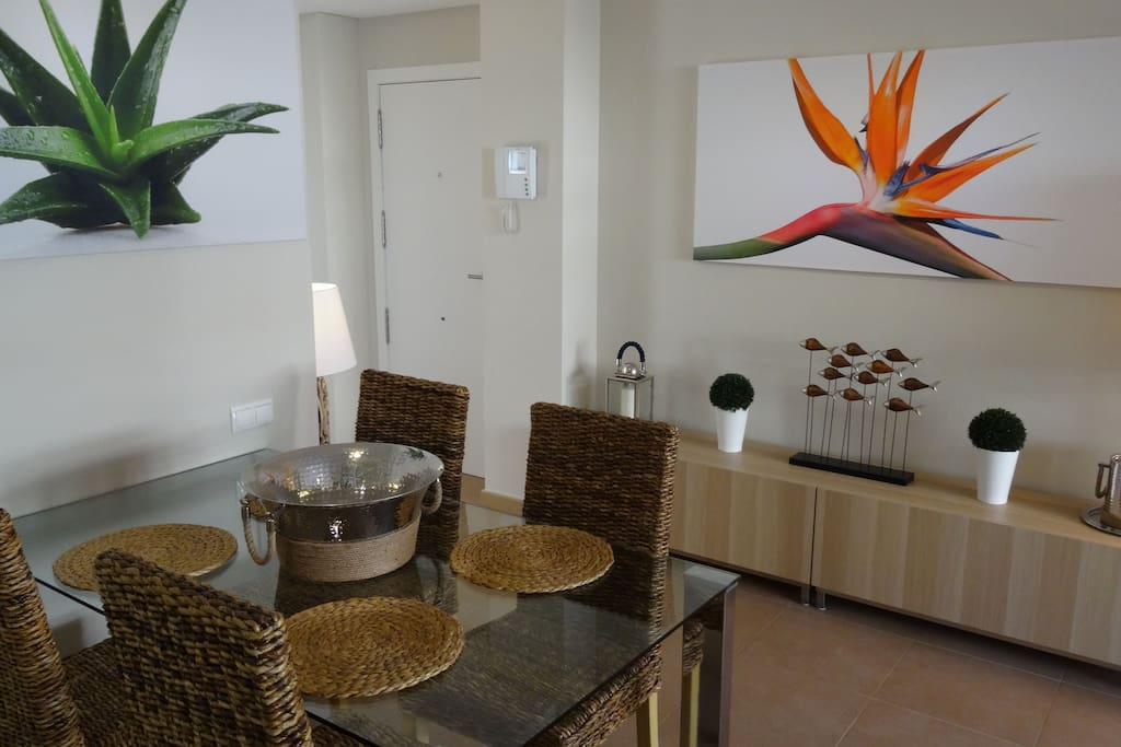 Contemporary Living Area