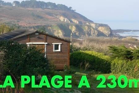 CROZON, LA CABANE DE LA PLAGE - Crozon - Zomerhuis/Cottage