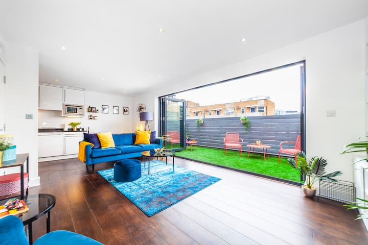 Penthouse Duplex w/Terrace, 2 min to Old Street
