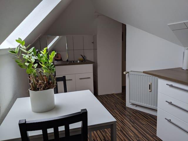 Kleine gemütliche Wohnung zentral gelegen
