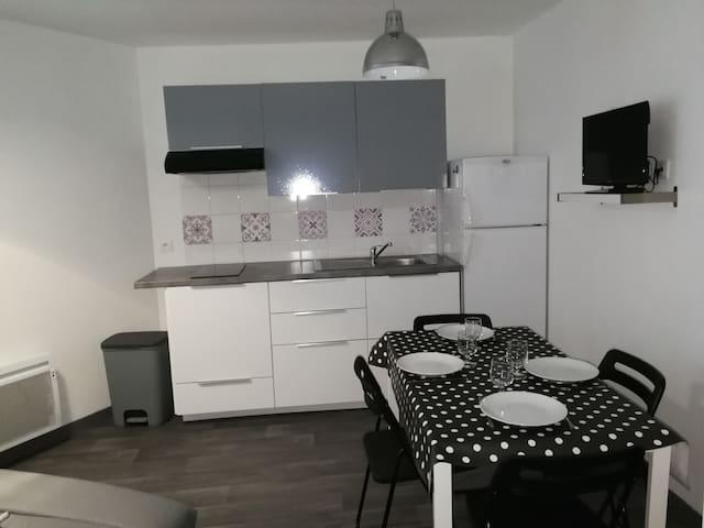 Appartement à Mèze à 500m du port et de la plage
