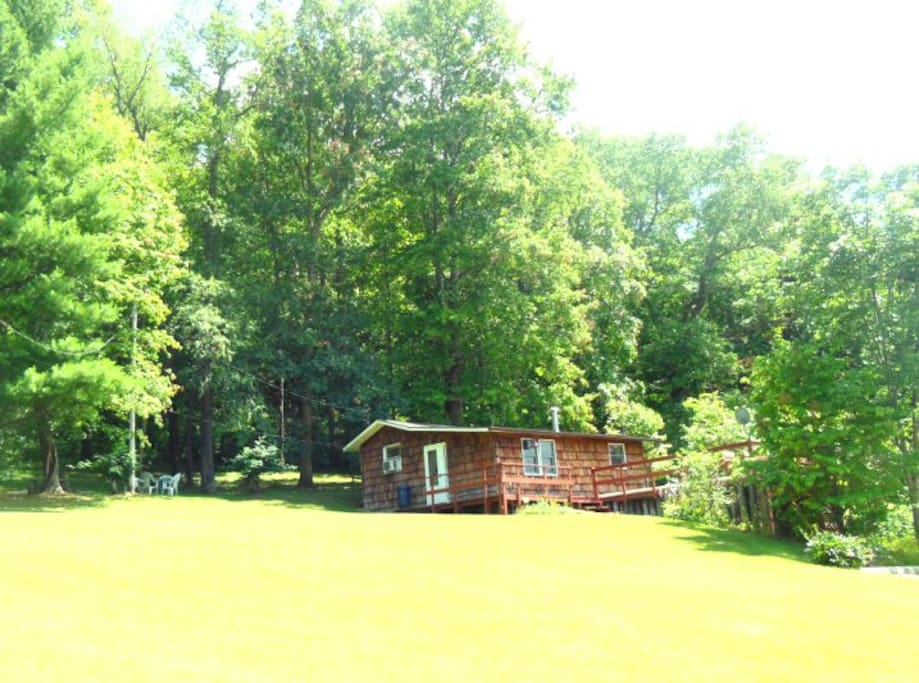 atwood lake year round getaway cabin cabins for rent in