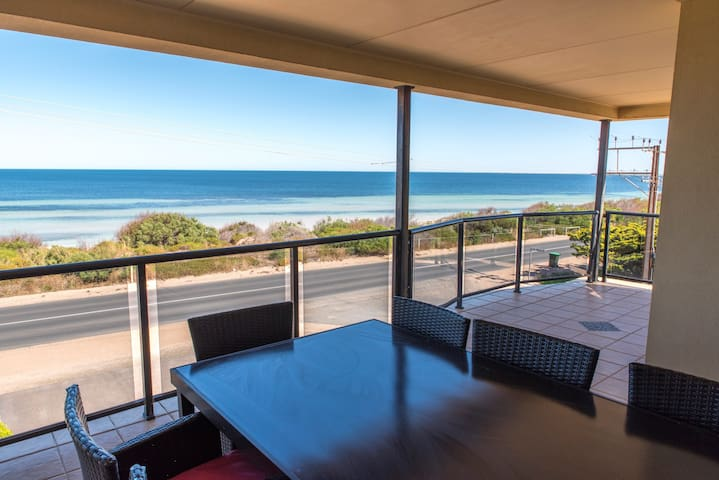 Spectacular beach front home!