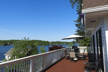 Most Luxurious Waterfront House on Lake Hopatcong