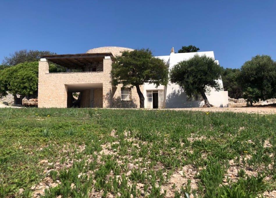 Foto della casa dall'esterno