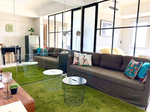 提供旅居主人服務的適合家庭入住的公寓