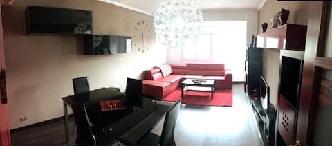"Spacious apartment in Cee ""Costa da Morte""."