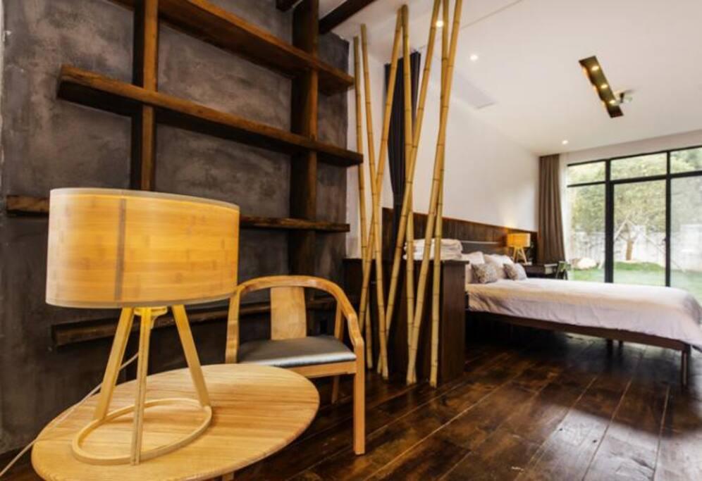 大床房笒 客厅区域