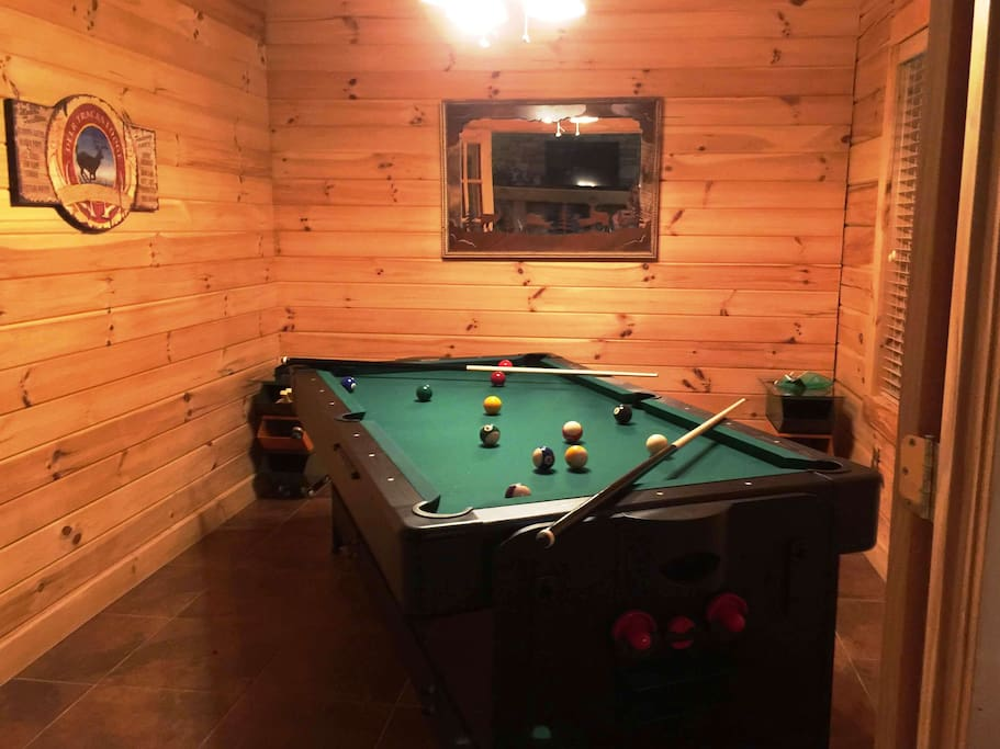 A game table too!  Pool table, Ping Pong Table and more.