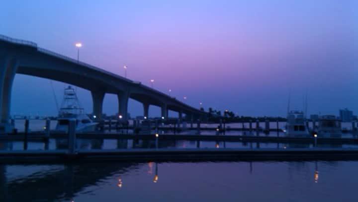 Sunset Walk on Waterfront 3B Apt