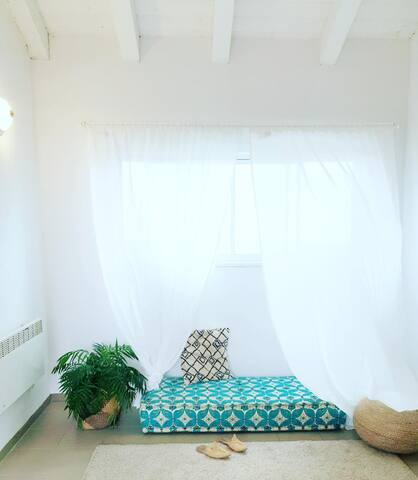 Stylistic two bedroom apartment in Harashim