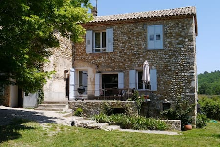 Dans un ancien Moulin en Provence - Riez - Hus