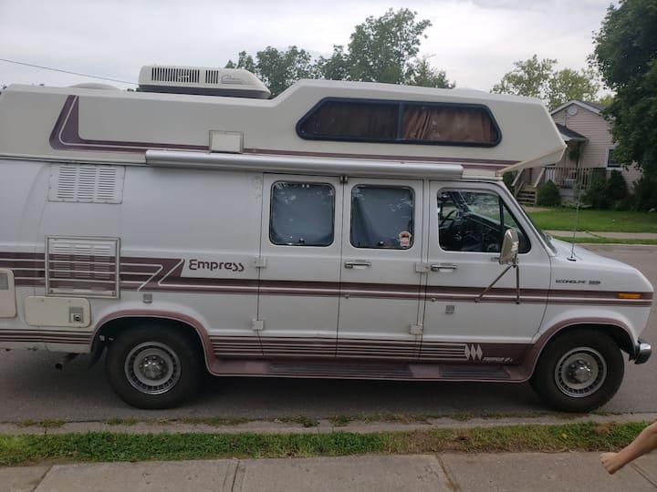 VANessa the Camper Van