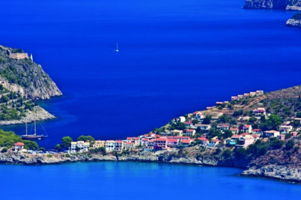 Assos from the sky