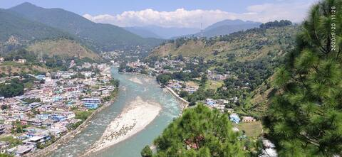 Village homestay with nature view in Bageshwar