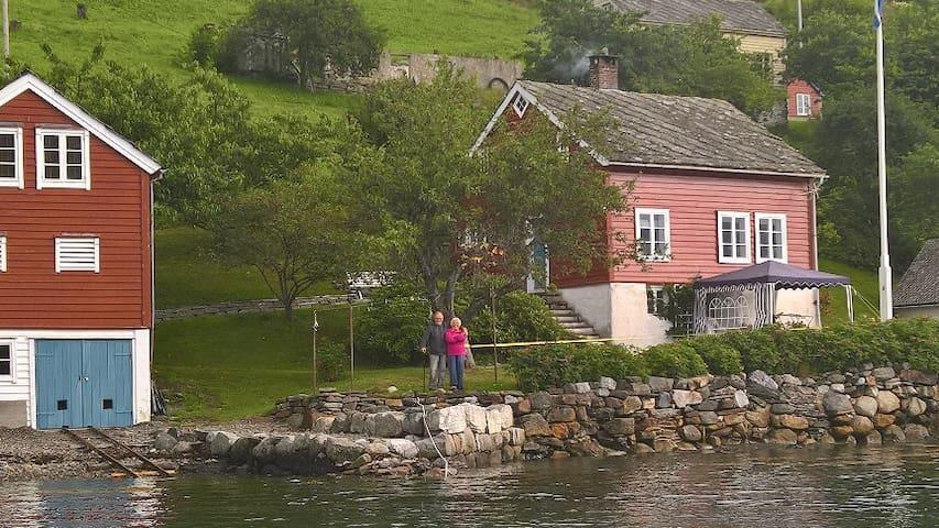 Ystanes, perle ved fjorden.. - Ystanes - Srub