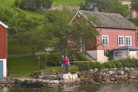 Ystanes, perle ved fjorden.. - Ystanes - Cabin