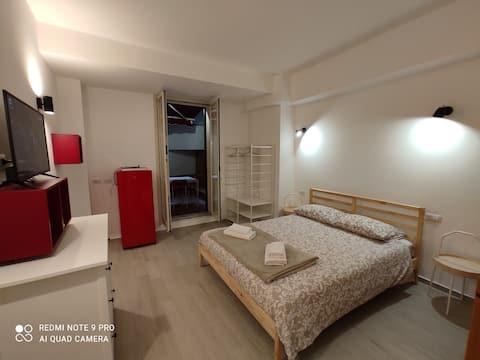 Taormina bed&bed monolocale adatto per la famiglia