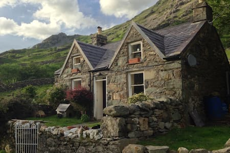 Snowdonian mountain cottage - Llanberis - Dom