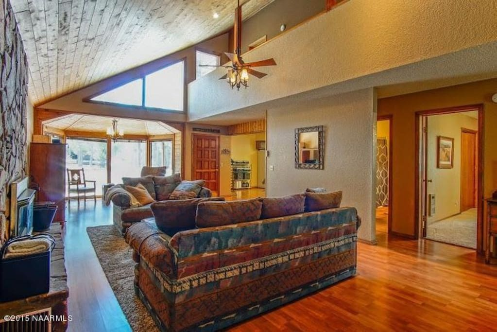 Hardwood Flooring Throughout the Home