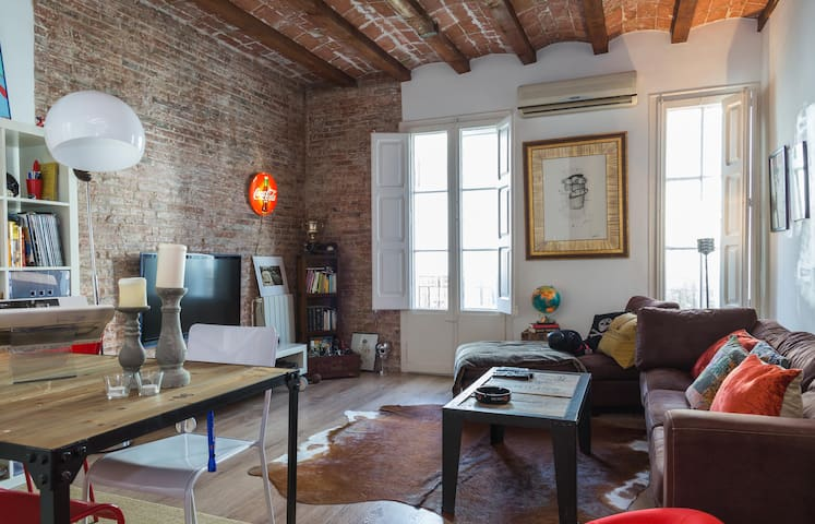 Modern Loft  Best Location - Barcellona - Loft
