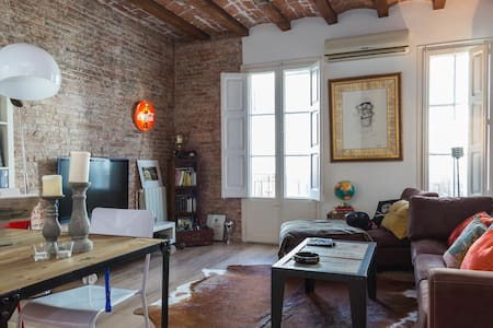 Modern Loft  Best Location - Barcelona