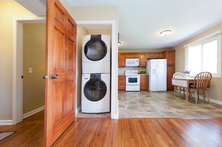 In-unit washer and dryer to make your stay more like home