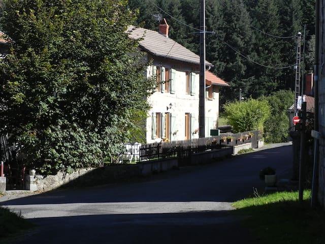 Maison de Campagne entièrement meublée - Saint-Nicolas-des-Biefs - Casa