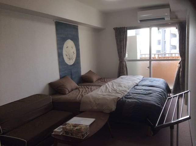 2min to Shibuya by train! GoodView10F! 2Wi-Fi - Setagaya - Appartamento