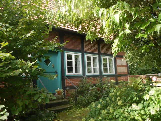 Romantische, alte Wassermühle - Rieste - Rumah