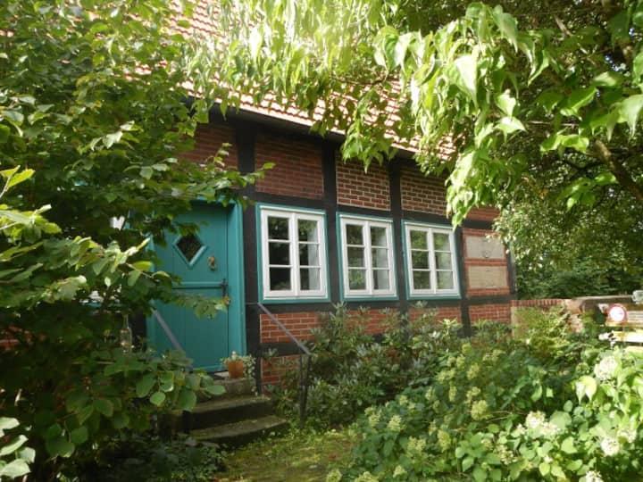 Romantische, alte Wassermühle