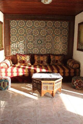 surfriadtaghazout, maison riad - Imouzzer Ida Ou Tanane - Hus