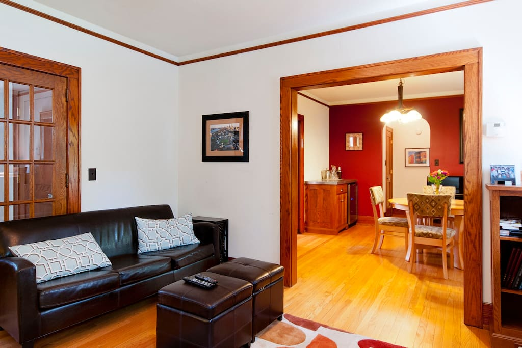 Living and dining rooms - shared space