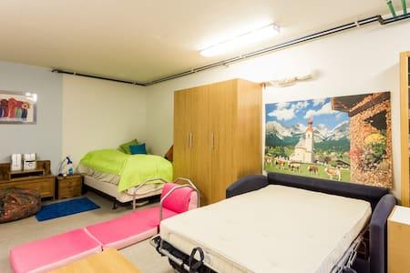 1 bed in a private garage - Kópavogur - Bed & Breakfast